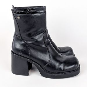Sketchers | Chunky Heeled Ankle Boots